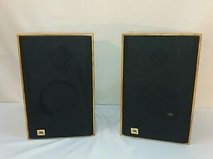 Sequentially Matched JBL J2045 Bookshelf Speakers