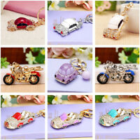 Creative Car Motorcycle Pendant Keyring Car Keychain Bag Charm Accessories