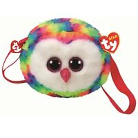 Ty Beanie Babies 95103 Ty Gear Owen the Owl Boo Shoulder Bag