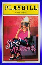 Playbill + Steel Magnolias + Delta Burke, Christine Ebersole, Frances Sternhagen