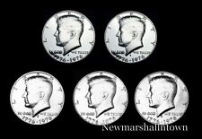 1776 1976 P+D+S+S+S Kennedy Half Dollar Mint Proof Set - 40% Silver Proof and BU