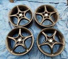"Toyota Avensis 16"" Alloy Wheels PCD 5x100mm 6.5Jx16 ET39 Black"