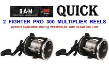 Dam Fighter Pro 300rh Multiplier Reel Loaded With 250m 30lb Line Sea Fishing