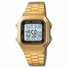 Casio Classic Digital Watch A178WGA Gold Design Unisex Retro Vintage Melbourne