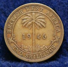 British West Africa, 1946-H 2 Shillings, Very Fine