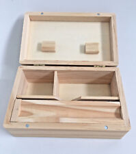 Medium Wooden Rolling Box Grass Bud Leaf Tobacco Weed Rizla Smoking Storage Roll