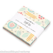 "Moda FABRIC Charm Pack ~ BRIGHT SUN ~ by A Quilting Life  5"" squares"