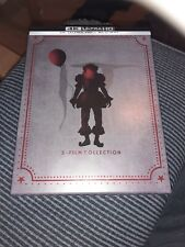 IT 2 Film Collection Limited Edition 4K Steelbook Box Set With Posters RARE!!!