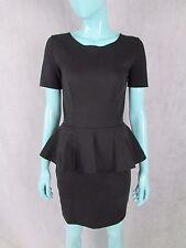 STELLA MCCARTNEY SIZE 40 UK 8 BLACK SHORT SLEEVE DRESS MAINLINE AUTHENTIC