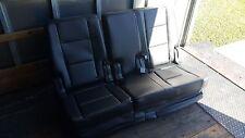 11-16 Ford Explorer OEM Vinyl Black Rear Set 2nd Row Seat 12 13 14 15 J7KEA #73T