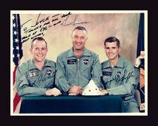 Deluxe Framed Apollo 1 Crew Photo