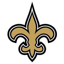 """New Orleans Saints Decal Indoor - Outdoor - Car-  Truck - Window 4"""" x 4.9"""""""