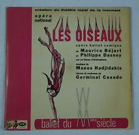 Manos Hadjidakis: Les Oiseaux Opera Ballet/Bejart & Dasnoy/Greece Odeon 2LP EX