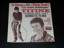 45RPM - B. o F- los Moderno - Charlie Chaplin - Titine - G. Plana 1971