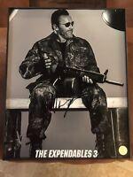 Arnold Schwarzenegger Signed 8x10 Expendables Photo 2 COA'S lifetime COA rare