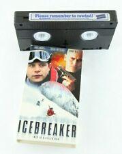 Icebreaker VHS Bruce Campbell Sean Astin Stacy Keach 1999 Home Video Blockbuster