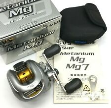 Shimano Metanium Mg Left Handed Bait Casting Reel w/Box <Excellent++> From JAPAN