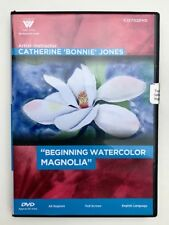 Catherine Bonnie Jones, DVD-ONE Hour, watercolor MAGNOLIA++ FINE WC TRAVEL BRUSH