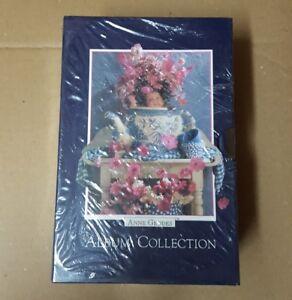 Anne Geddes Album Collection Three Photo Albums Holds 180 Photos NEW 1996