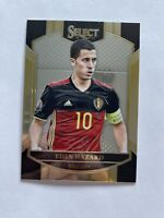 2016-17 Panini Select Soccer Eden Hazard Belgium Terrace Card #15