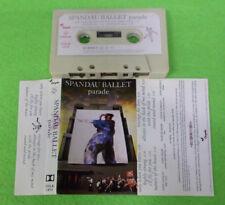 MC SPANDAU BALLET Parade 1984 italy CHRYSALIS CDLK 1473 no cd lp dvd vhs