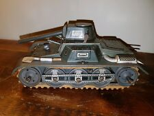 Tin-Plate Toy Tank 1930's-40's Gescha Patent German Clockwork