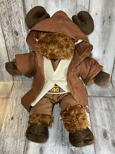 "Build A Bear Brown Moose in STAR WARS Obi Wan Kenobi Jedi Knight Outfit 18"" BABW"