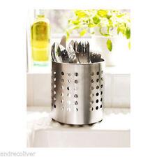 Cutlery Stand Stainless Steel Utensil Holder Organizer Storage Kitchen Ikea
