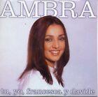 "AMBRA ANGIOLINI ""TU, YO, FRANCESCA Y DAVIDE"" RARE SPANISH PROMOTIONAL CD SINGLE"