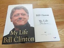 President BILL CLINTON signed MY LIFE 2004 2nd Edition Book PSA Letter AB04923