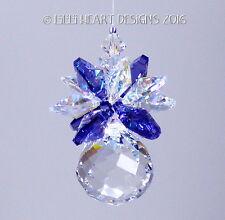 m/w Swarovski 20mm Mini Mozart Ball Pineapple Suncatcher AB Lilli Heart Designs
