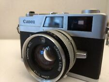 For parts Canon canonet QL17 35mm  Film Camera 40 1.7 fixed lens FREE SHIPPING