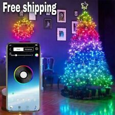 Christmas Tree LED Lights Smart Blootooth Customized App Control String Lights