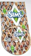 The Sims 3 Game PC Complete 2009 With Codes Manual Key Commands, No Case