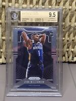 2019 Panini Prizm Zion Williamson ROOKIE BGS 9.5 💎TRUE GEM💎MVP?