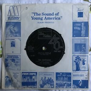The Supremes, The Happening / All I Know About You, Funk/Soul, 45RPM Vinyl 7""