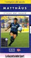 Lothar MATTHAUS L'INTER DEI RECORD film VHS La Gazzetta dello Sport 2000 no dvd