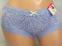 Maidenform Lace Trim Rose Pink Hipster Panty,  Size 6M #40823/HNS
