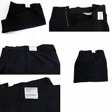 """UNITED UNIFORMS 10180 FIRE EMS POLY WOOL PLEATED FRONT UNIFORM SHORTS NAVY 34"""""""