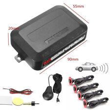 Car Parking 4 Hidden Sensors 13mm Reverse Backup Radar Sound Buzzer Alarm Handy