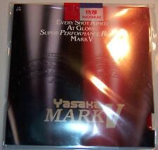Yasaka Table Tennis Rubber/Sponge: Mark V / MarkV, Black, New in Packet, UK