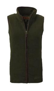 Game Ladies Penrith Fleece Gilet Womens Green Country Hunting Shooting