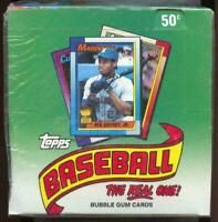 1990 Topps Baseball Card Box of 36 Packs Factory Cello Wrapped  Box. Unopened