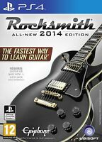 Rocksmith 2014 PS4 with real tone cable PlayStation 4 Brand New Fcatory Sealed