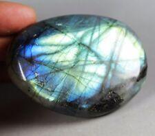 140g Amazing Royal Blue Flash Labradorite Spectrolite Freeform Stone
