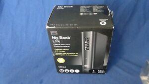 Western Digital My Book Elite 1TB External USB 2.0 3.5 inch Hard Drive