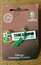 British Lions 2005 New Zealand Tour Official Licensed Pin Badge