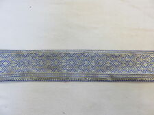 Alte Seiden Sariborte gold 200/6  cm Nr. 1796