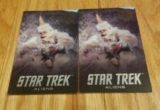 TWO (2) RARE Mugato Star Trek Aliens Cards Dave & Busters