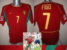 Portugal Luis Figo Madrid Nike Shirt Jersey Football Soccer Adult XL Maglia Top